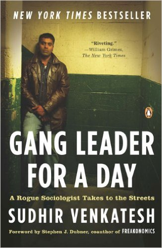 Gang leader for a day book cover